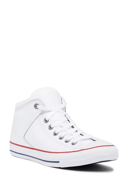 Image of Converse Chuck Taylor All Star Street Leather High Top Sneaker