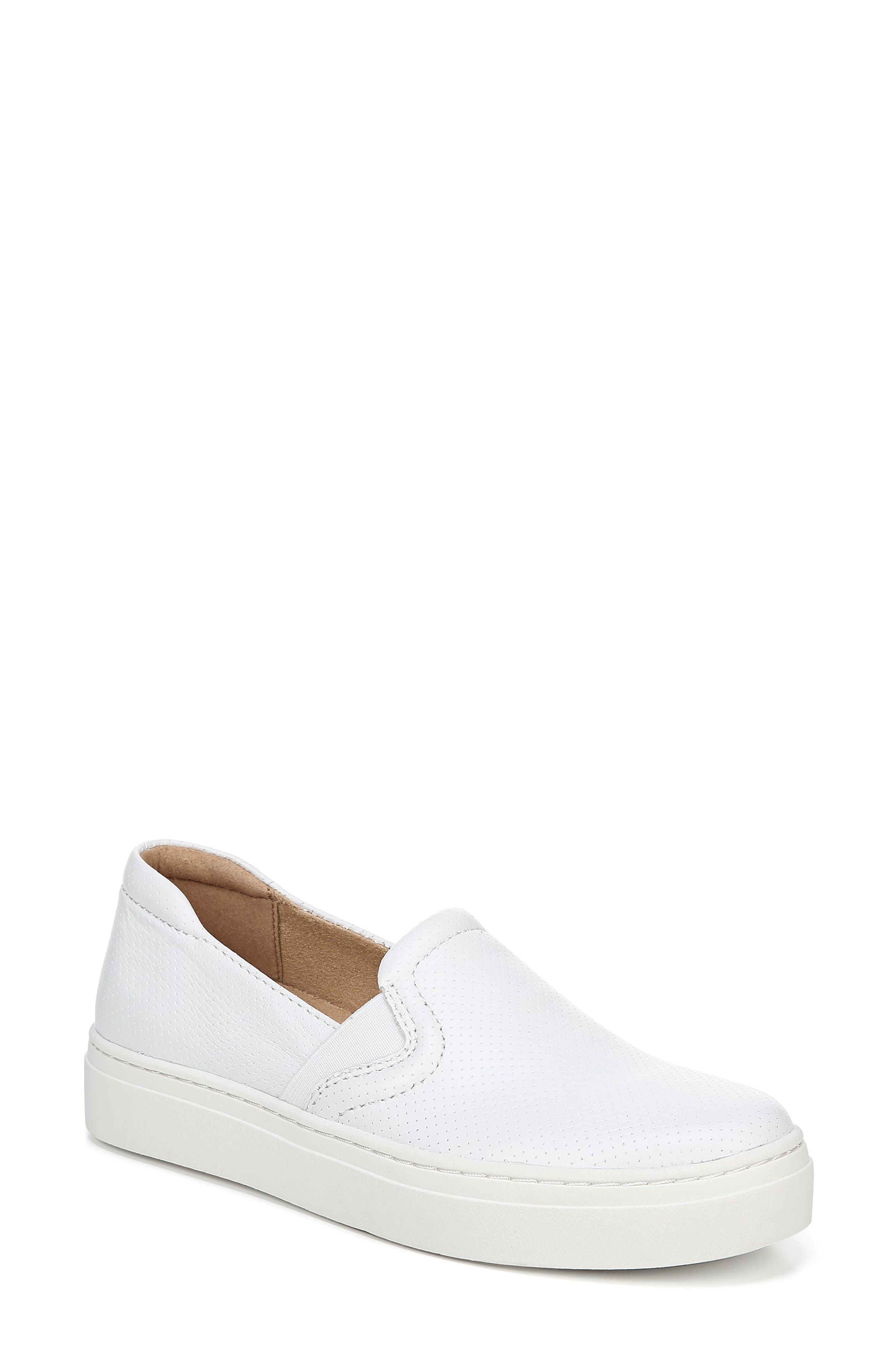 Naturalizer Carly Slip-On Sneaker, White