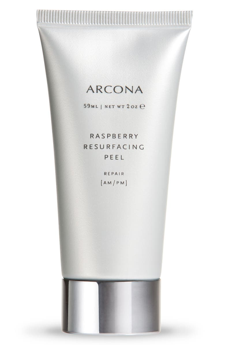 ARCONA Raspberry Resurfacing Peel, Main, color, NO COLOR
