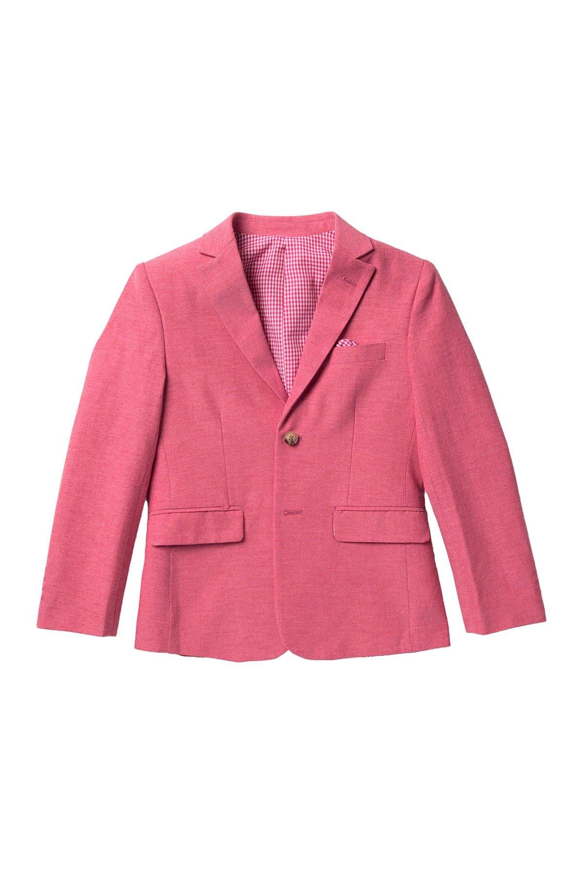Isaac Mizrahi Boys 4-Piece Textured Vest Set