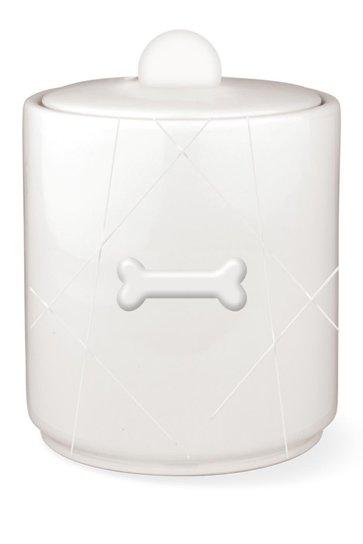 Image of Fringe Studio Geo Bone Sculpted Treat Jar