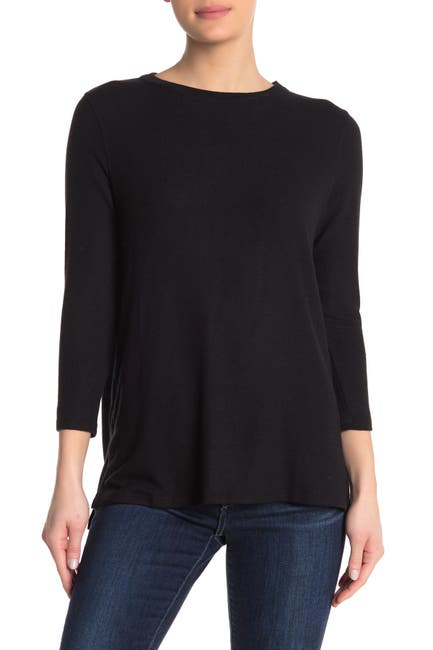 Image of Michael Stars Kirstyn 3/4 Sleeve T-Shirt