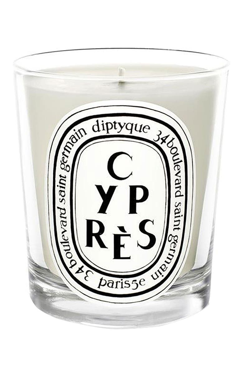 DIPTYQUE 'Cyprès' Scented Candle, Main, color, 000