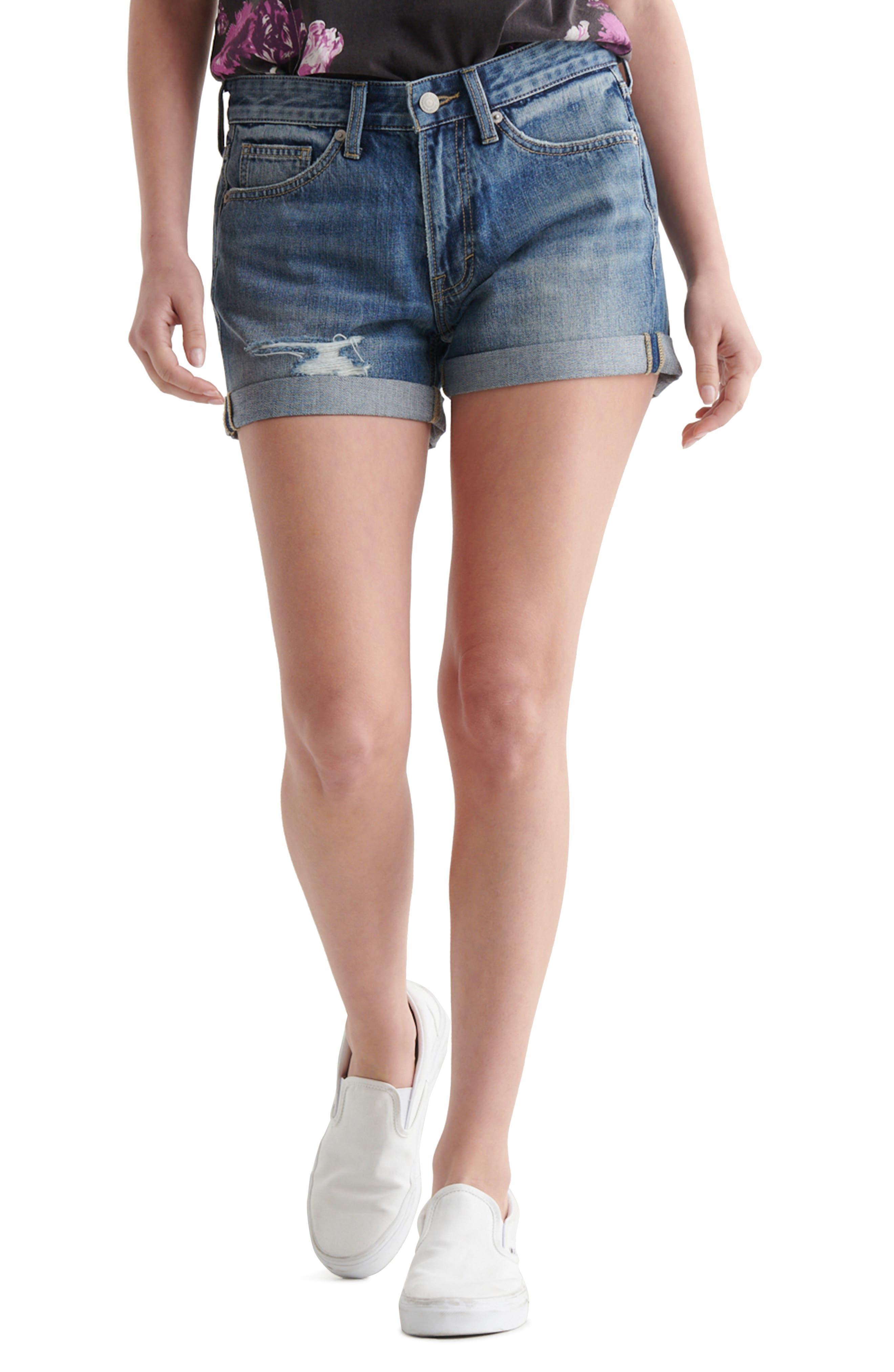 Denim Boy Shorts