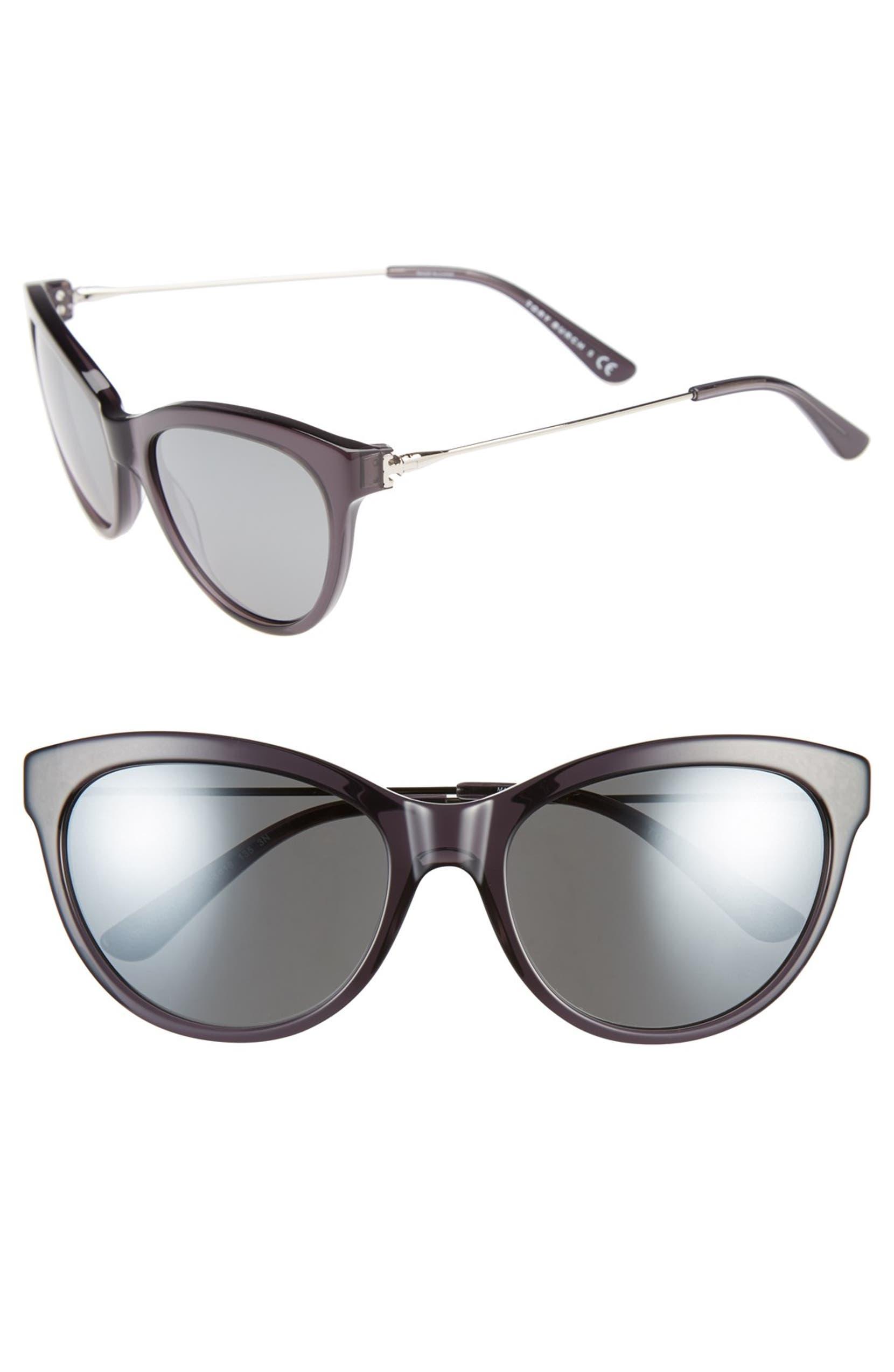 bacbde79c3f8 Tory Burch 'Serif' 56mm Cat Eye Sunglasses | Nordstrom
