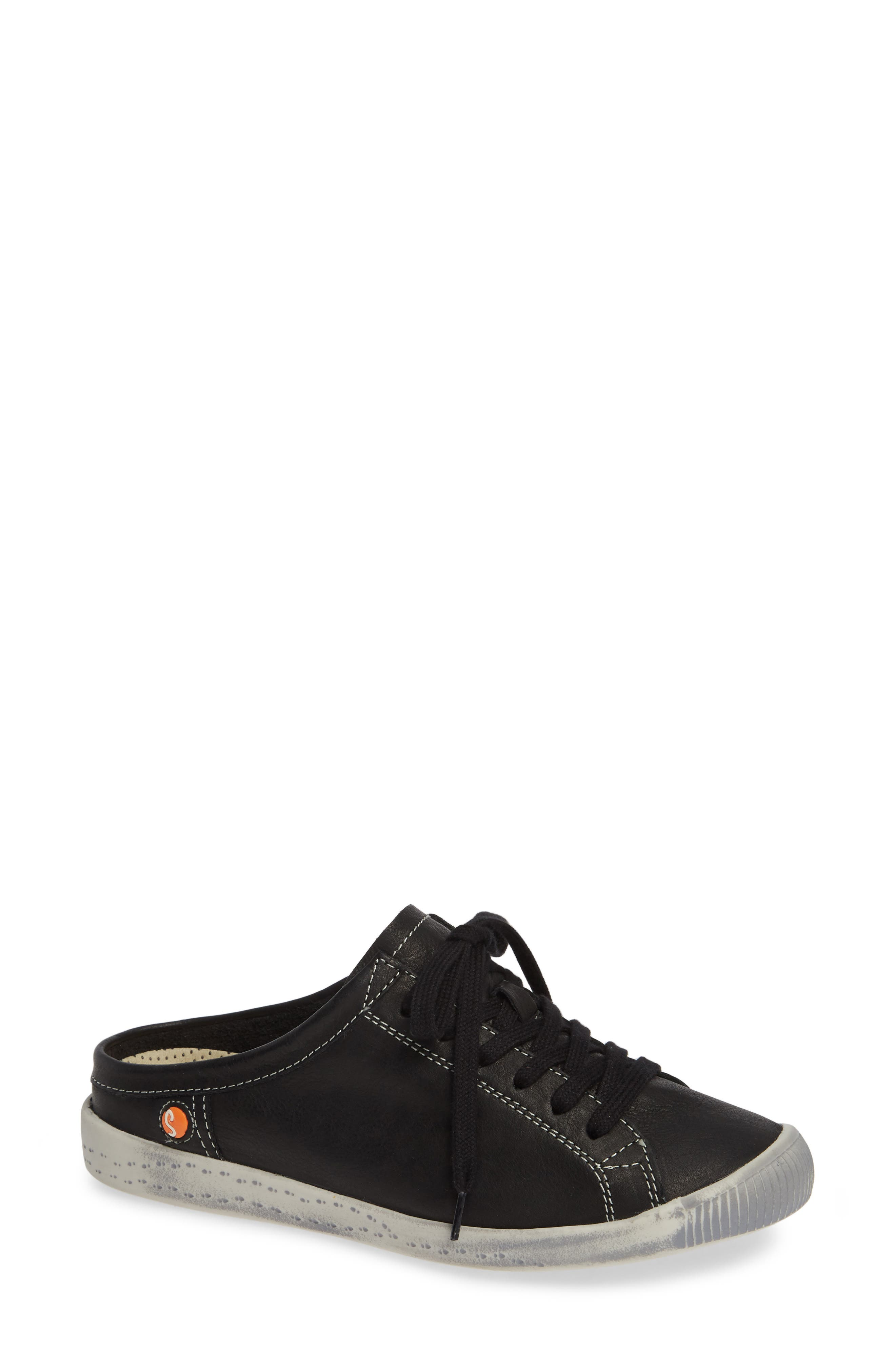 Softinos By Fly London Ije Sneaker Mule - Black