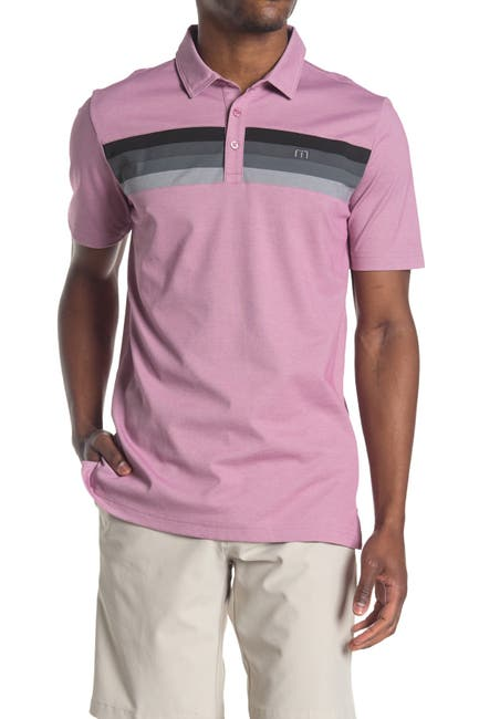 Image of TRAVIS MATHEW Never Better Slim Short Sleeve Polo