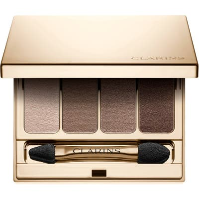 Clarins Four-Color Eyeshadow Palette - Brown