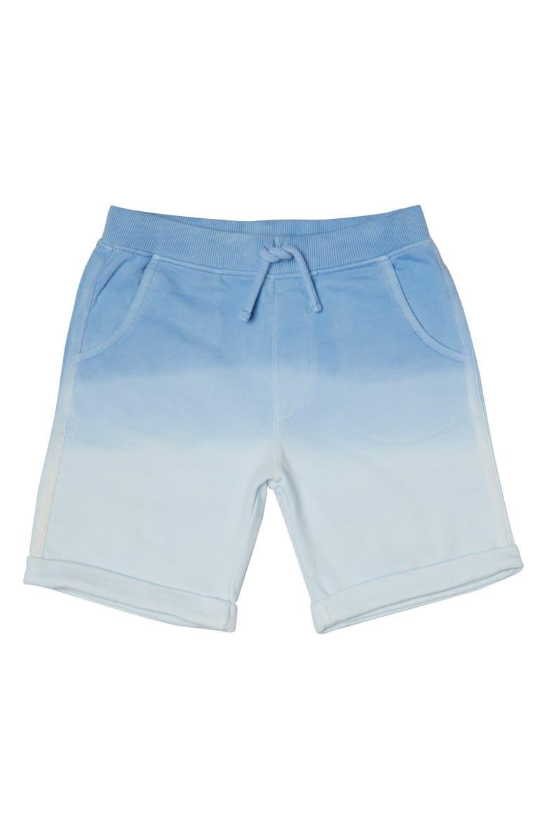 ART & EDEN Organic Cotton Shorts, Main, color, BLUE
