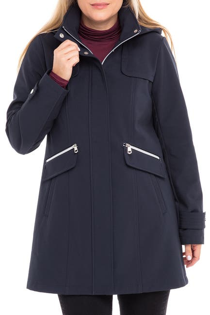 Image of Sebby Zip Front Soft Shell Jacket