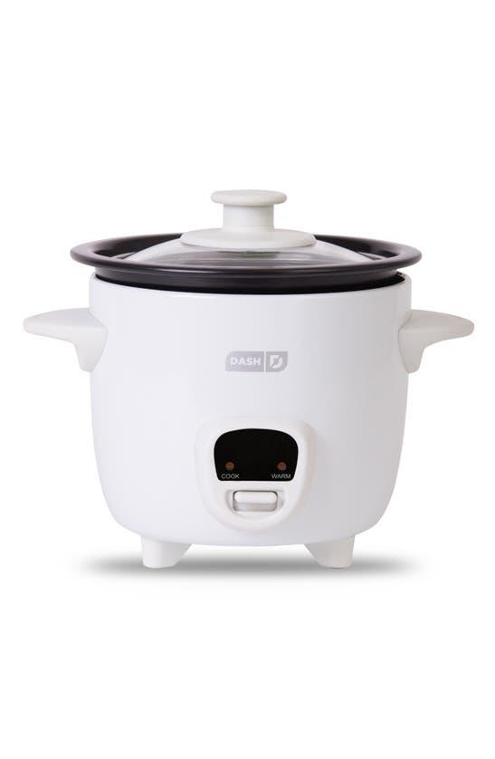 Dash Mini Rice Cooker In White