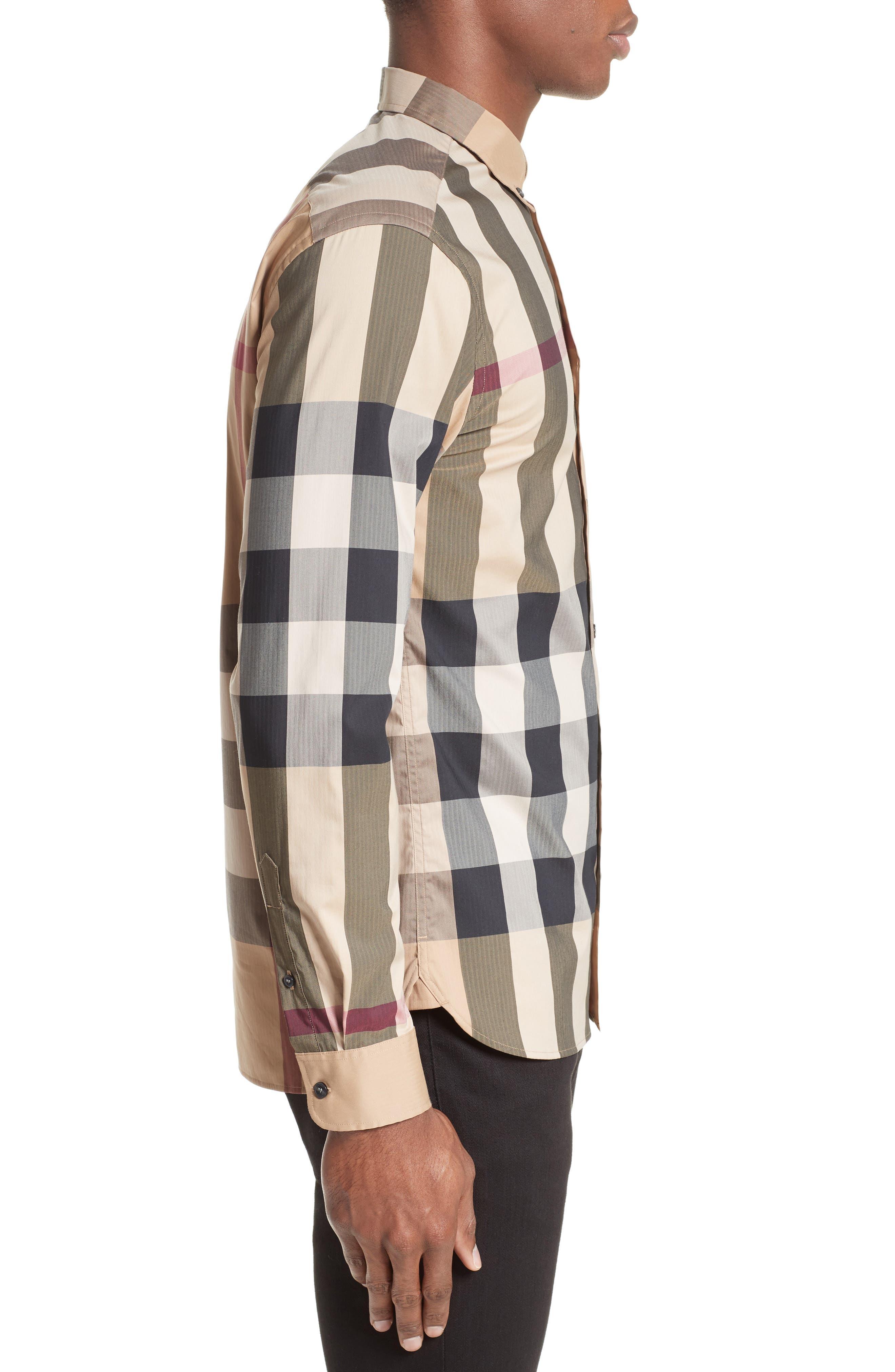 ,                             Thornaby Slim Fit Plaid Sport Shirt,                             Alternate thumbnail 9, color,                             251