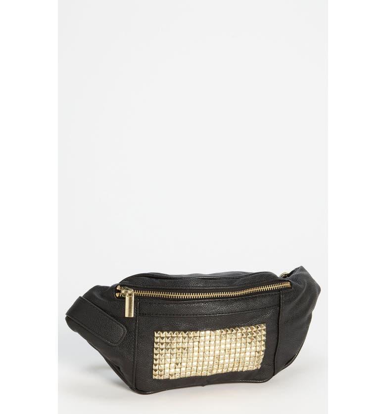 Topshop Studded Belt Pouch