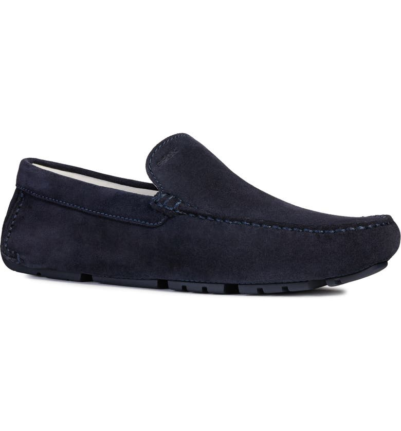 GEOX Melbourne 6 Driving Shoe, Main, color, NAVY