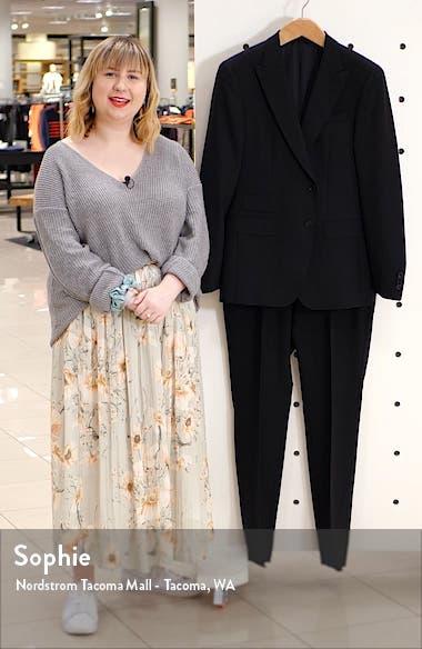 Helward/Gelvin Trim Fit Plaid Wool Suit, sales video thumbnail