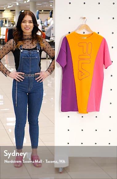 Prima Colorblock T-Shirt Dress, sales video thumbnail