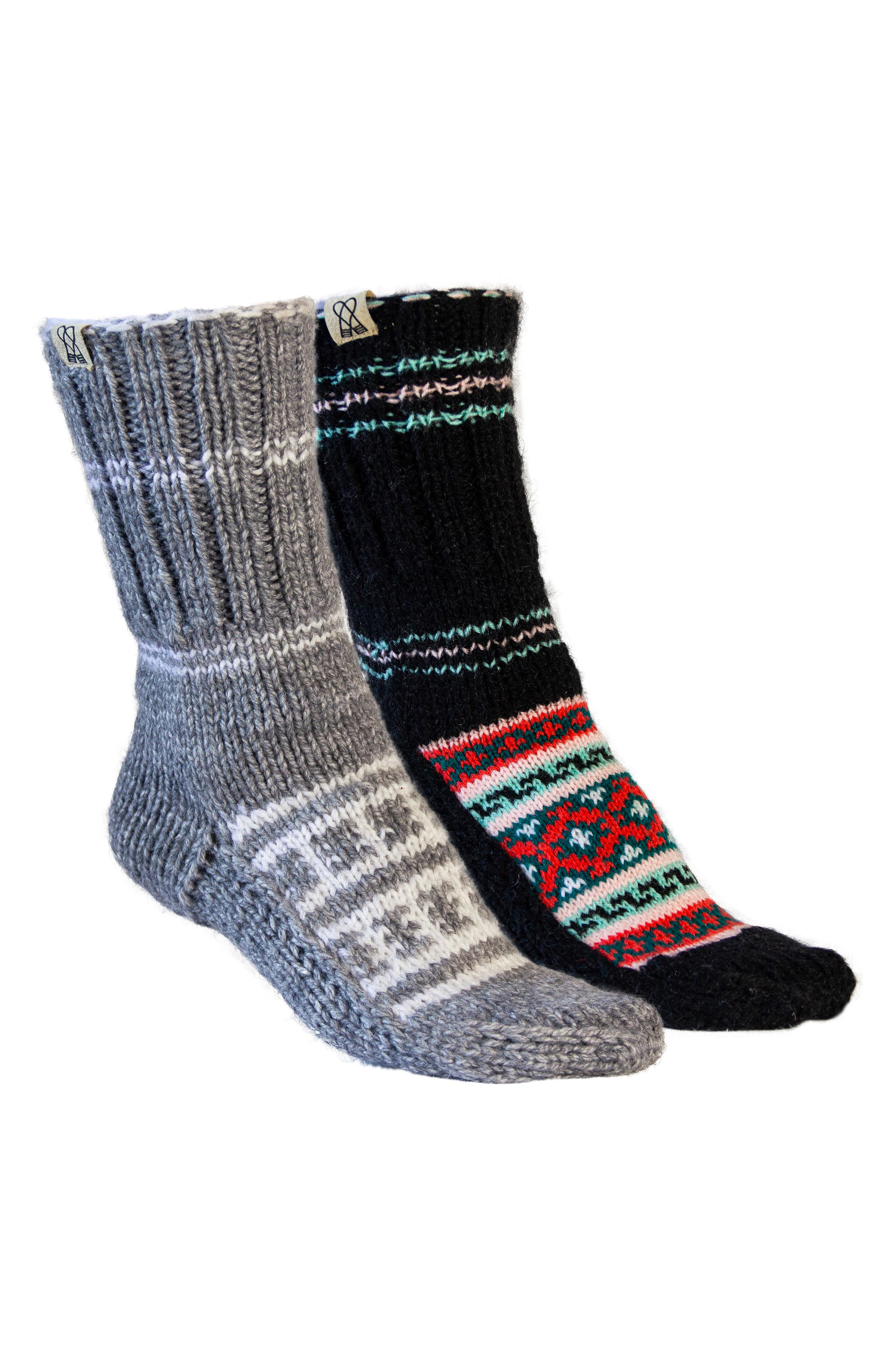 Women's Silver Frost Assorted 2-Pack Crew Socks