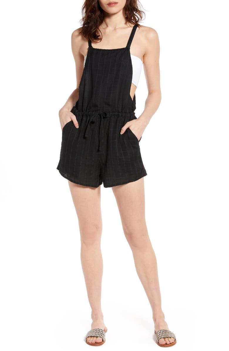BILLABONG Bermuda Playsuit, Main, color, BLACK