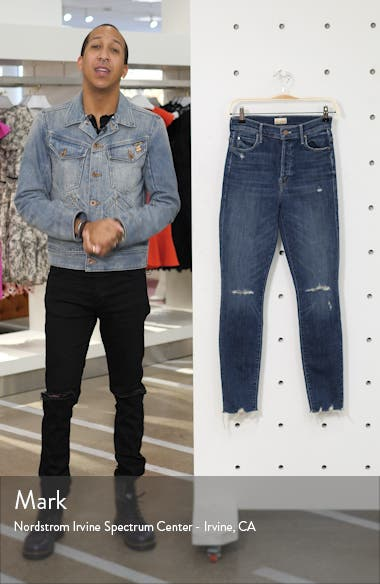 The Stunner Chew High Waist Ankle Skinny Jeans, sales video thumbnail