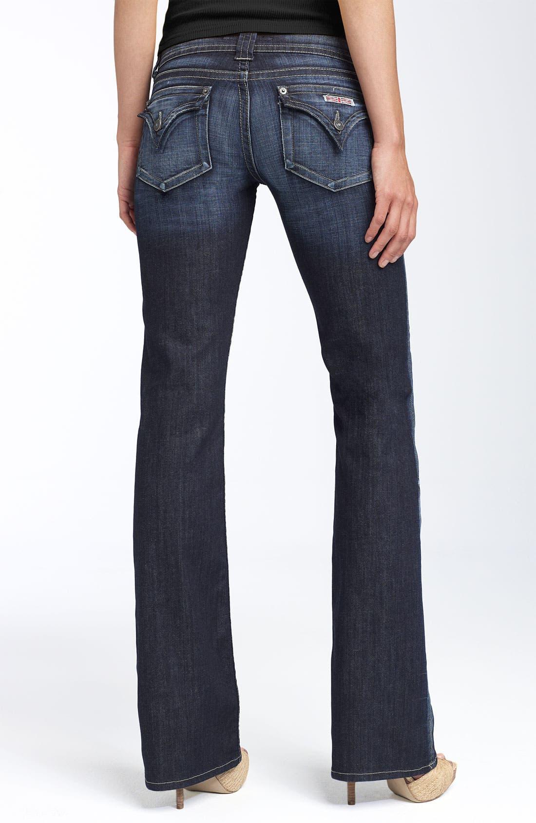 ,                             Signature Flap Pocket Bootcut Jeans,                             Alternate thumbnail 67, color,                             470