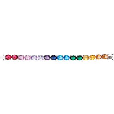 Nina Rainbow Line Bracelet