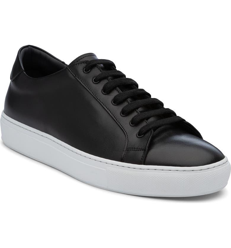 ANKARI FLORUSS Low-Top Sneaker, Main, color, BLACK