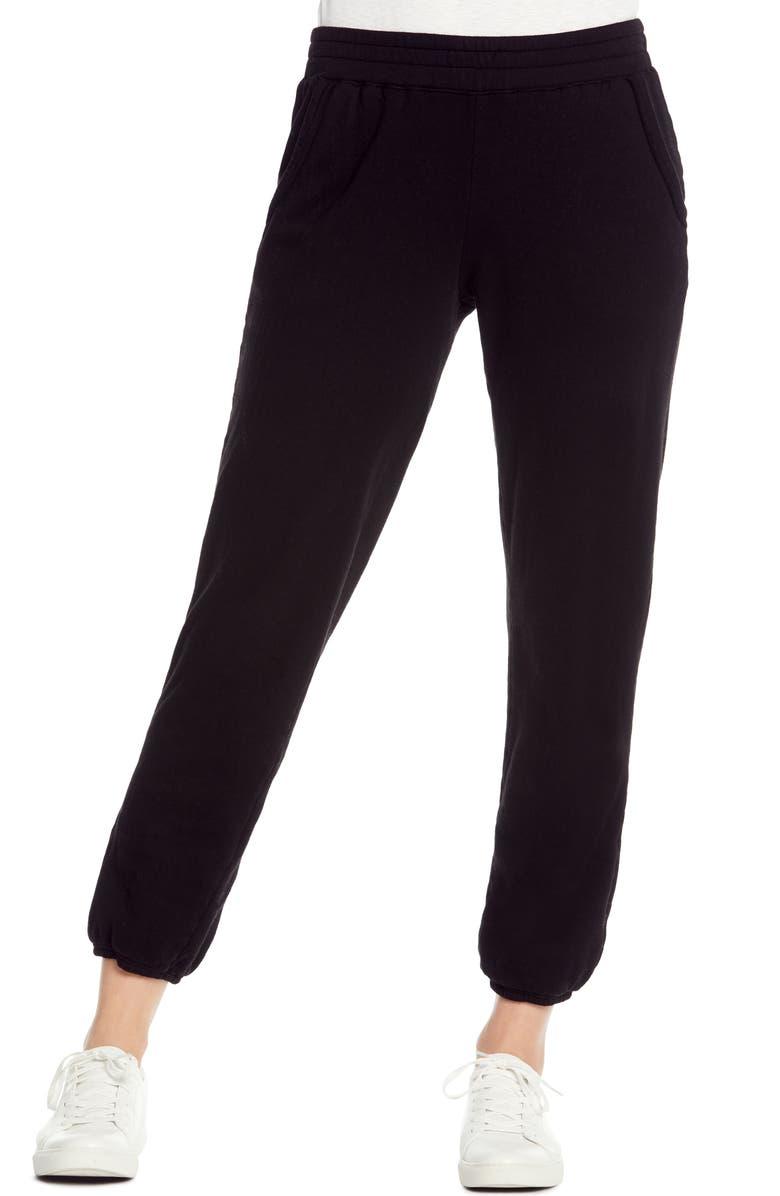 MICHAEL STARS Cozy Terry Sweatpants, Main, color, 001
