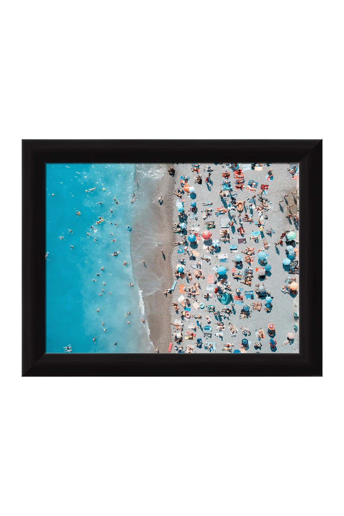 Image of PTM Images Fun Times At The Beach Framed Giclee Print