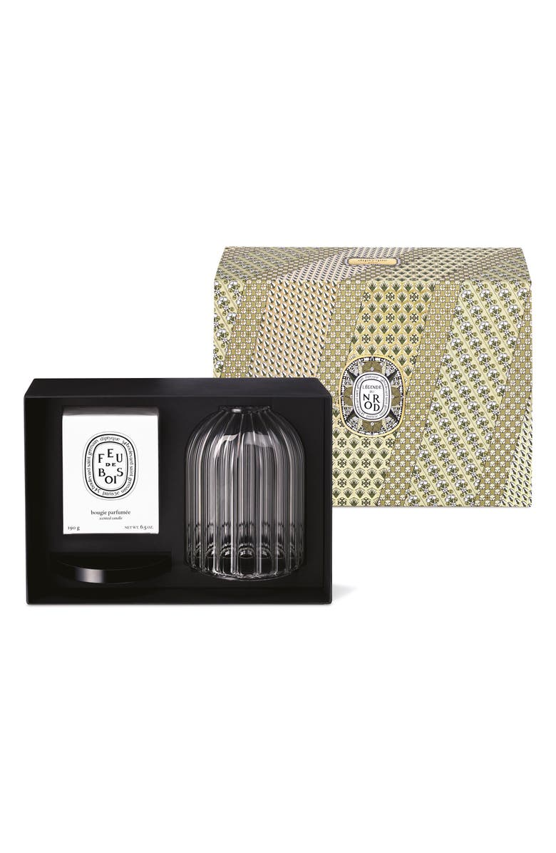 DIPTYQUE Candle & Photophore Holder Set, Main, color, 000