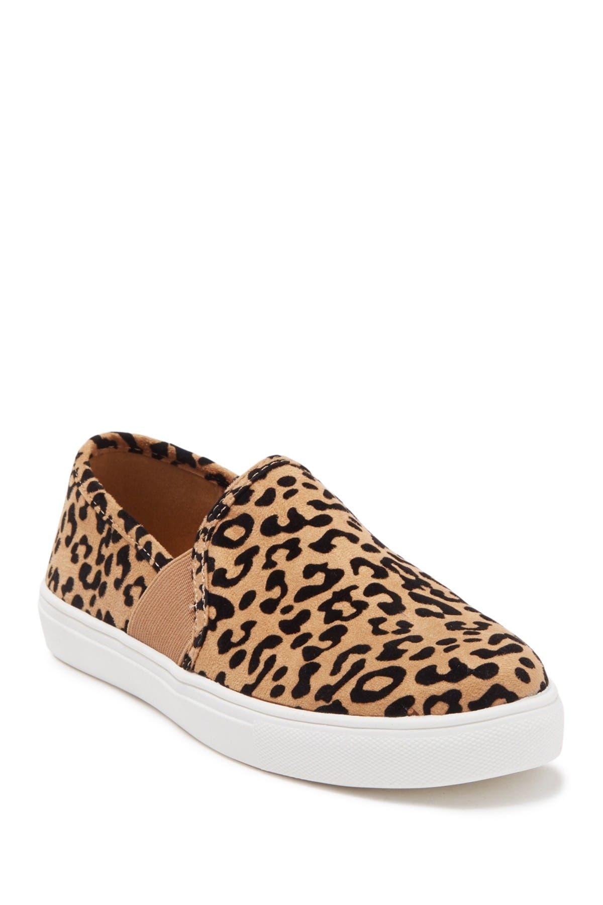 Image of Fergie Stevie Slip-On Leopard Printed Sneaker