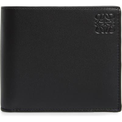 Loewe Rainbow Bifold Leather Wallet - Black
