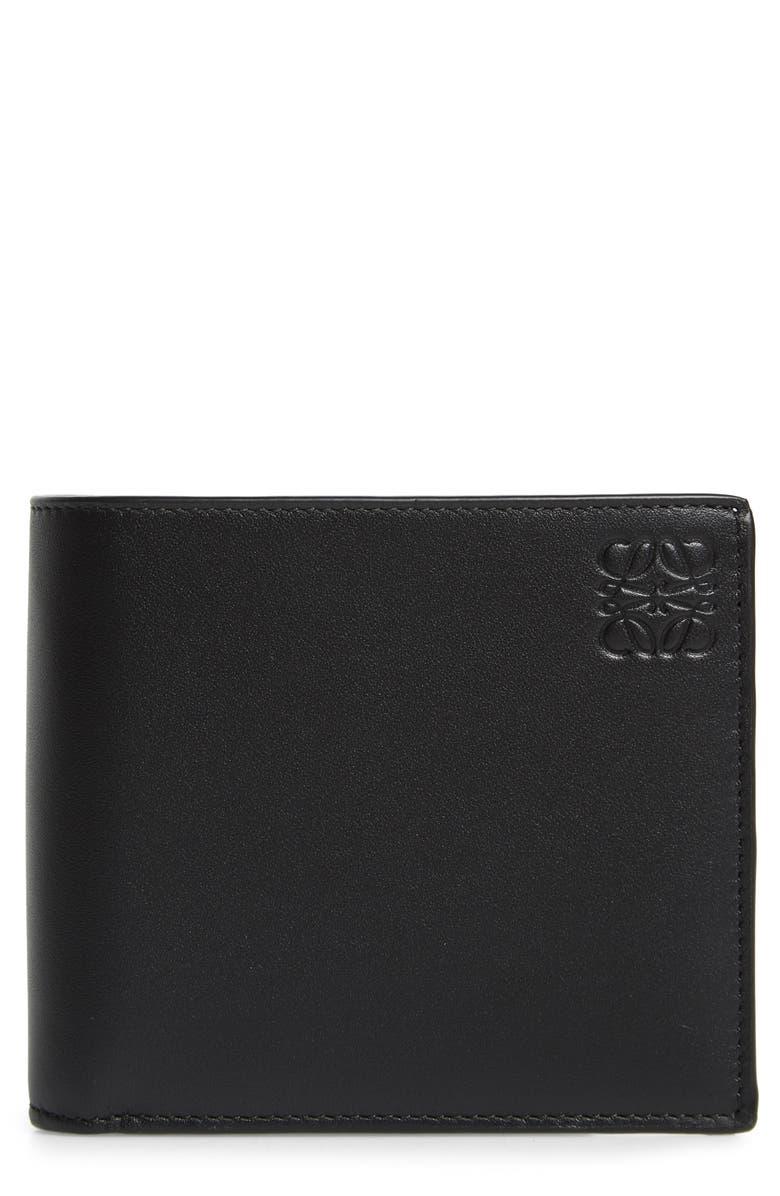 LOEWE Rainbow Bifold Leather Wallet, Main, color, RAINBOW