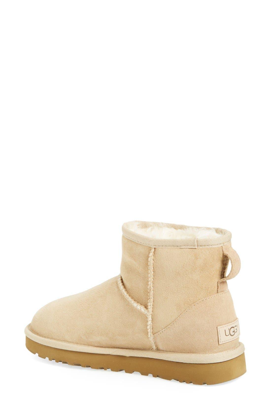 ,                             Classic Mini II Genuine Shearling Lined Boot,                             Alternate thumbnail 135, color,                             251