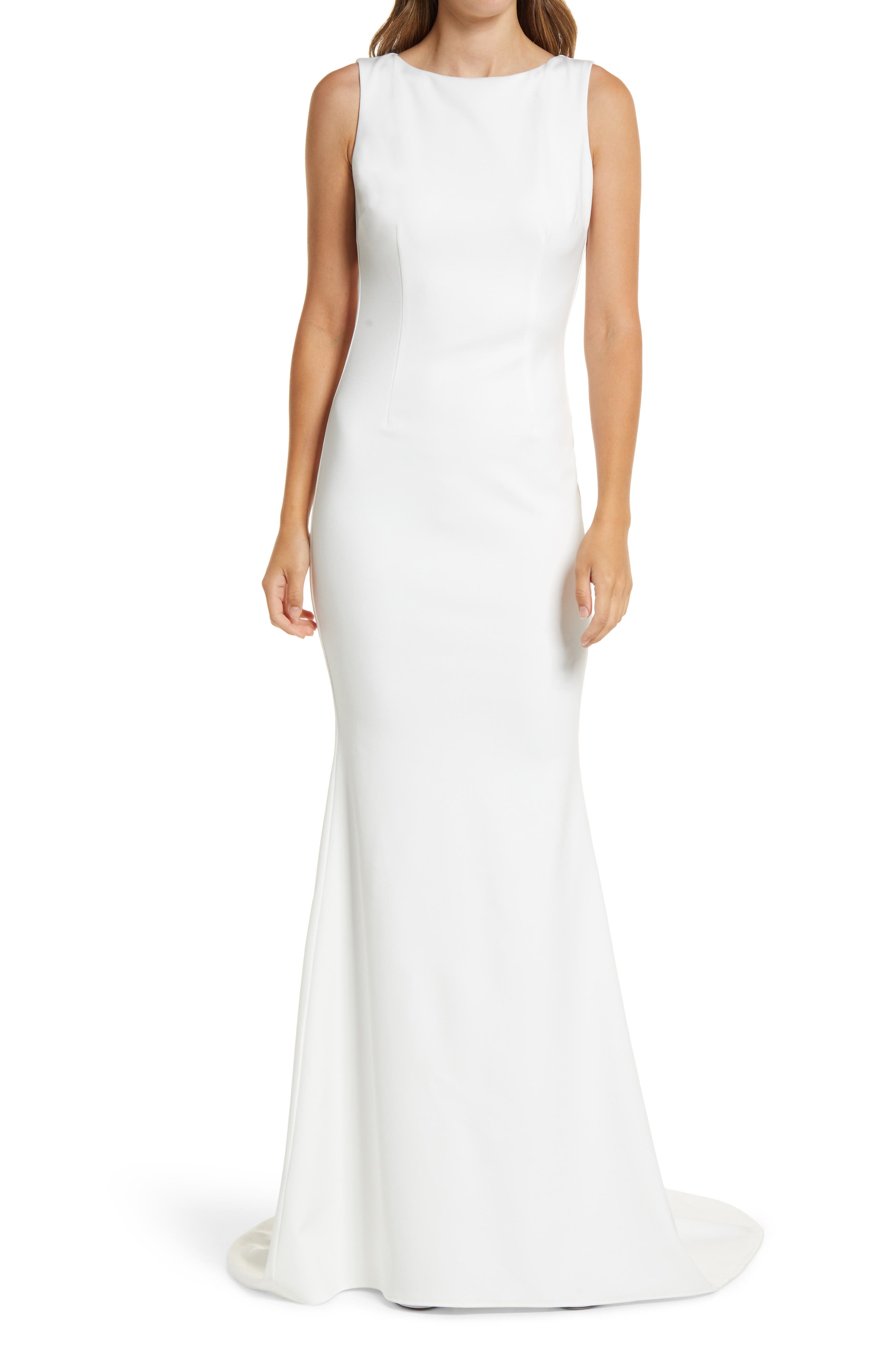 Theo High Neck Gown