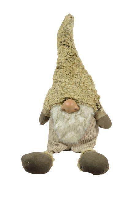 "Image of G.T. DIRECT 39.27"" Fabric Long Leg Sitting Santa"