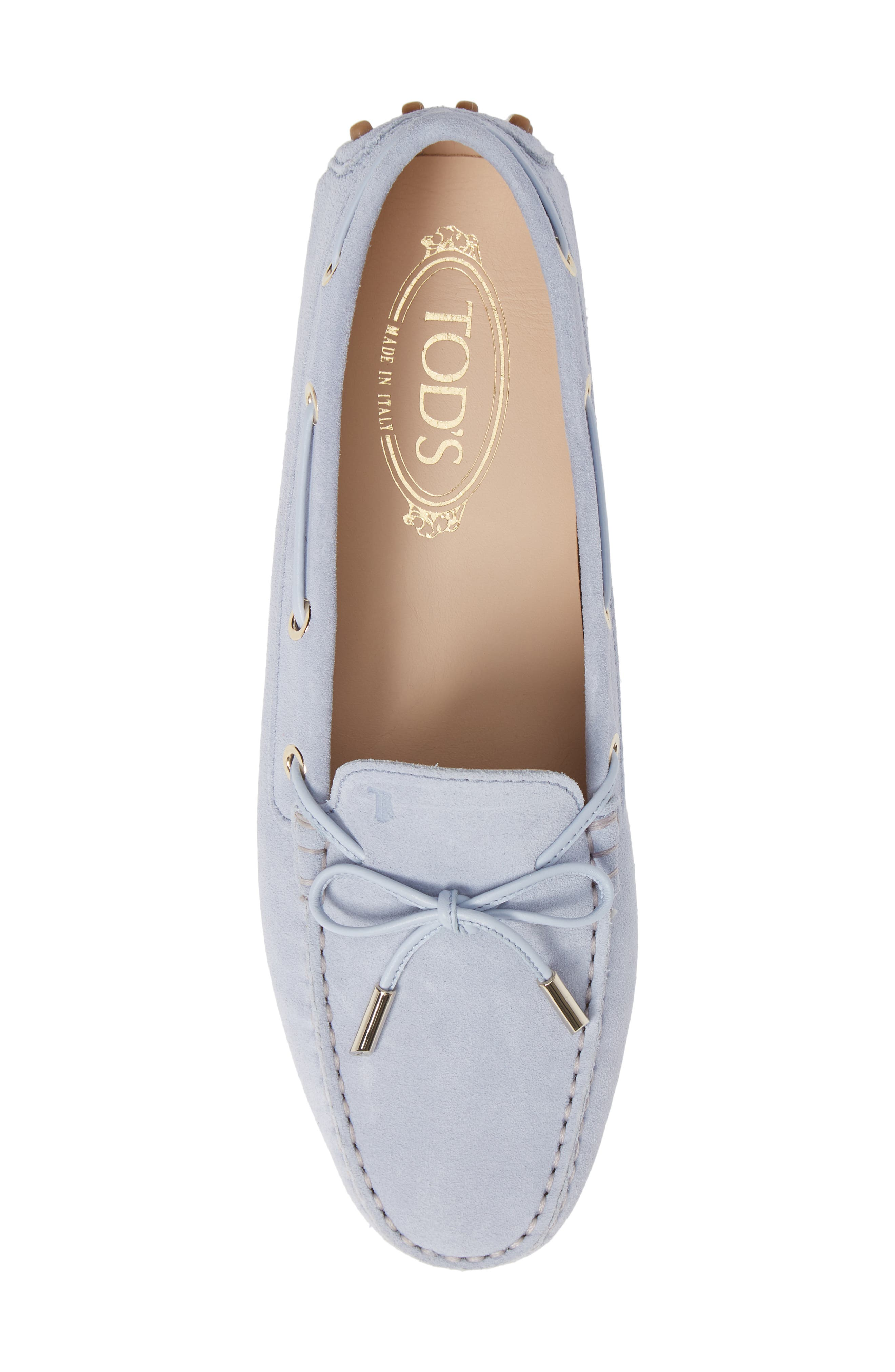 ,                             Gommini Driving Moccasin,                             Alternate thumbnail 5, color,                             LILAC
