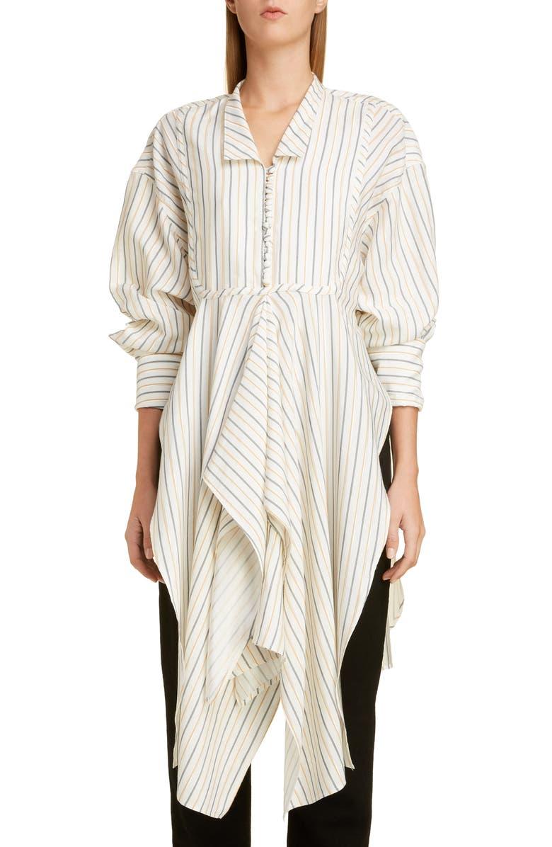JW ANDERSON Stripe Handkerchief Shirt, Main, color, 700