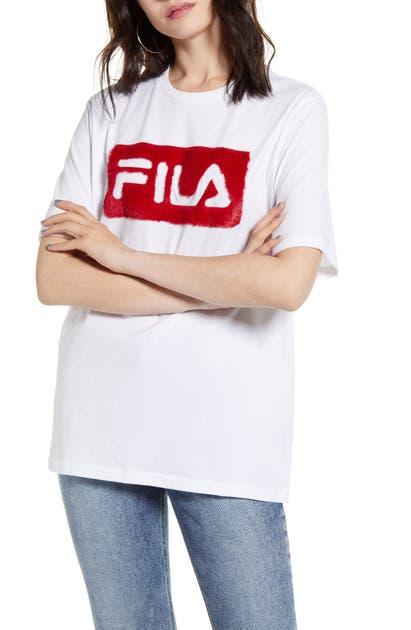 Fila Tops NOVA TEXTURED LOGO TEE