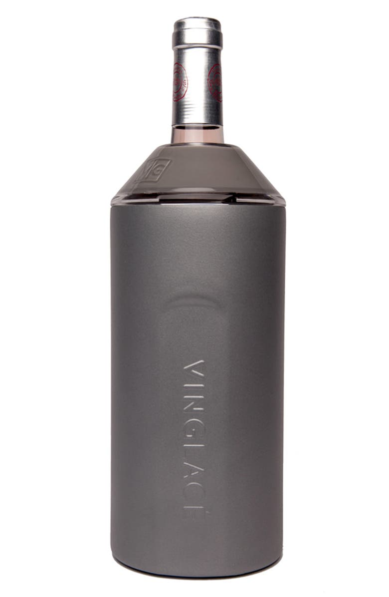 VINGLACÉ Wine Chiller, Main, color, GREY