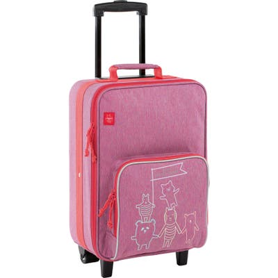 Toddler Lassig About Friends 18-Inch Rolling Suitcase - Pink
