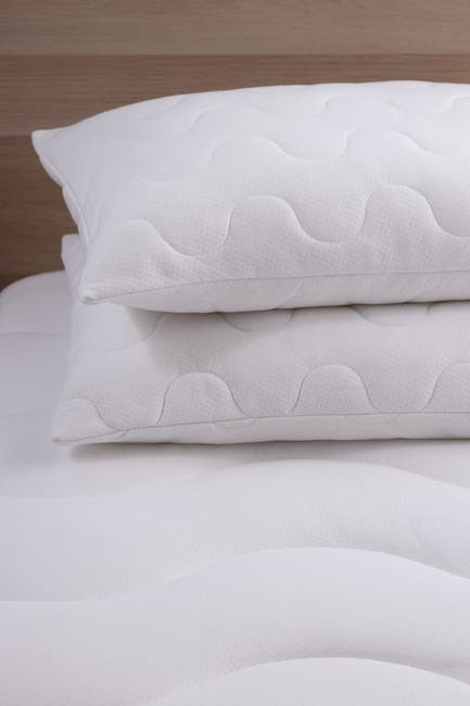 Image of Allied Home Coolmax King Moisture Wicking Performance Pillow Protector Set of 2