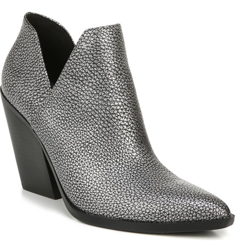 NATURALIZER Rosetta Bootie, Main, color, PEWTER LEATHER