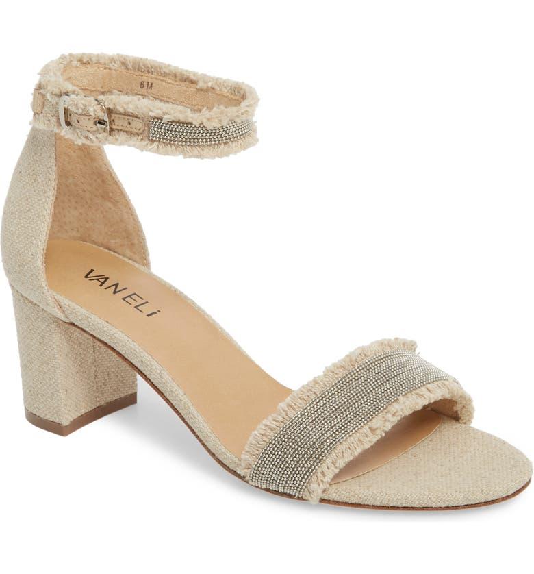 049176447 VANELi Merida Ankle Strap Sandal (Women)   Nordstrom