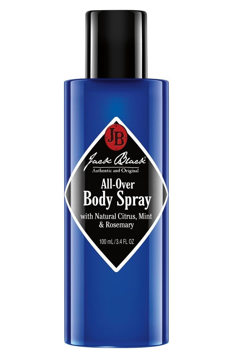 JACK BLACK All-Over Body Spray, Main, color, NO COLOR