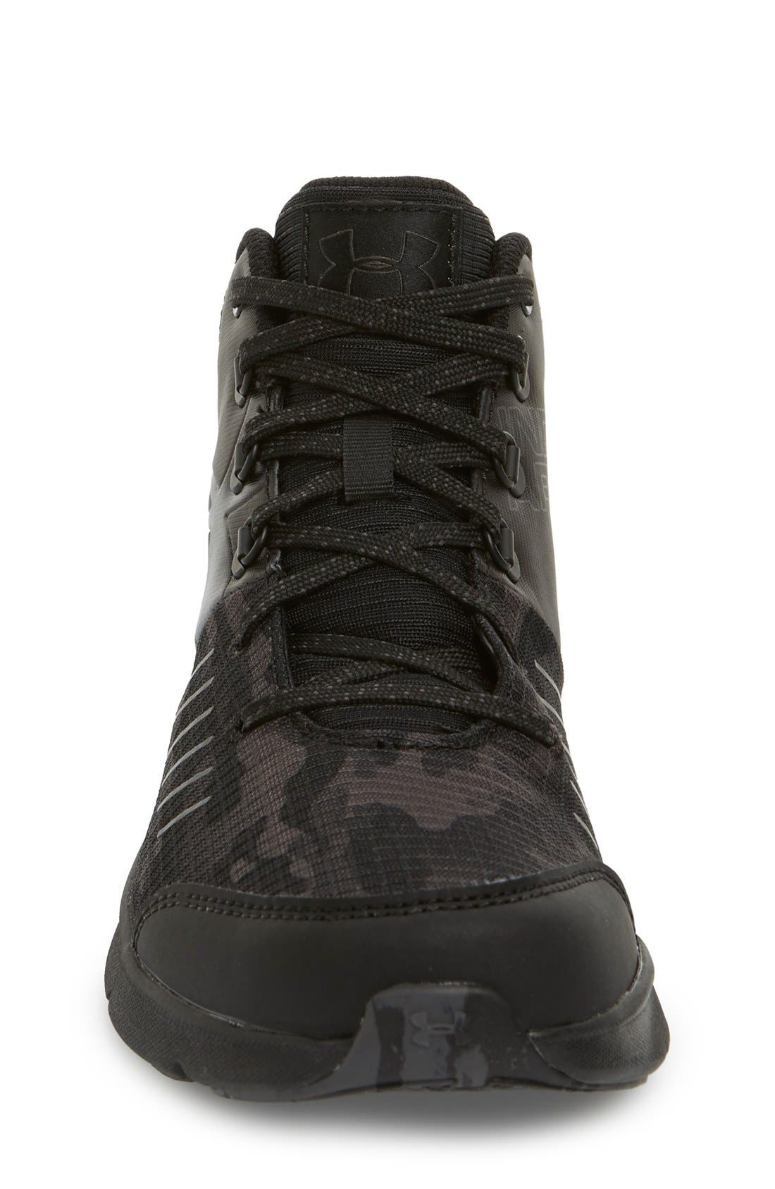 NEW Youth Girl/'s Under Armour UA OVERDRIVE MID GRIT 1273364-001 High Top Shoes