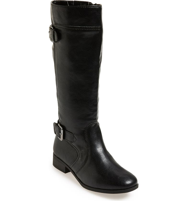 NORDSTROM 'Brynn' Riding Boot, Main, color, 001