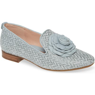 Taryn Rose Brigitta Loafer- Blue