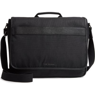 Ted Baker London Edds Messenger Bag - Black