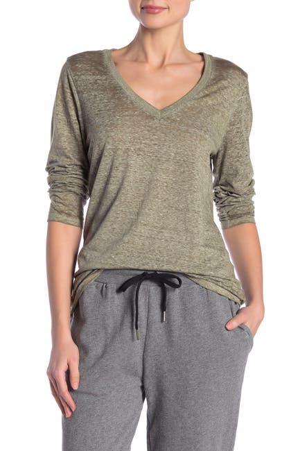 Image of Threads 4 Thought Burnout V-Neck Tee