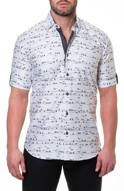 Image of Maceoo Fresh Wire Slim Fit Sport Shirt